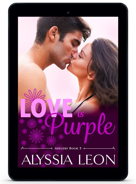 Love is Purple Book by Alyssia Leon