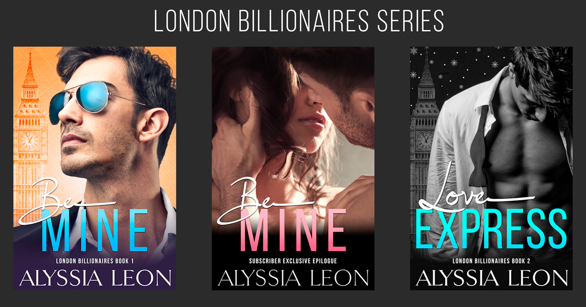 London Billionaires Series by Alyssia Leon